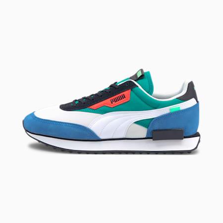 Zapatos deportivos Future Rider Retro para hombre, Puma White-Star Sapphire, pequeño