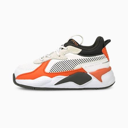 Souliers RS-X Mix, tout-petit, Blanc Puma-Lis tigré, petit