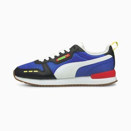R78 OG Trainers, Dazzling Blue- White- Black, small-GBR