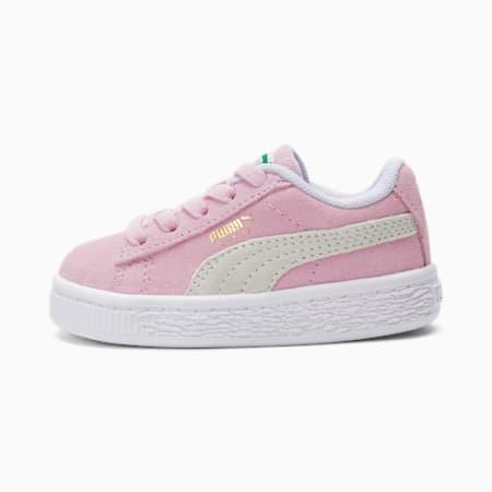Zapatos Suede Classic XXIpara bebés, Pink Lady-Puma White, pequeño
