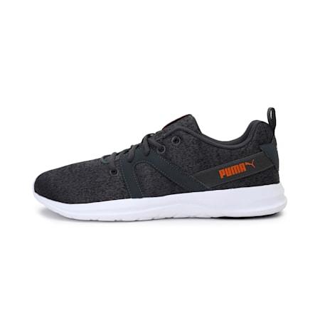 Flex Pro Men's  IDP Shoes, Dark Shadow-Jaffa Orange, small-IND