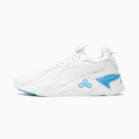PUMA x CLOUD9 RS-X Trainers, Puma White, small