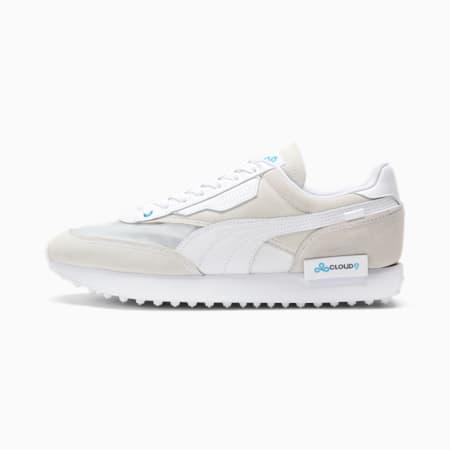PUMA x CLOUD9 Future Rider Sneaker, Puma White, small
