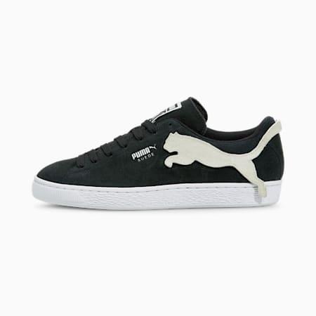 Suede The Cat Unisex Sneakers, Puma Black-Puma White, small-IND