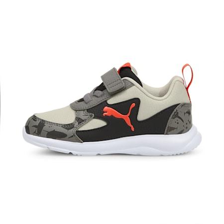 PUMA Fun Racer Shark Kid's Shoes, Gray Violet-Grenadine, small-IND