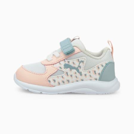 Zapatos deportivos Fun Racer Roar para bebé, Puma White-Blue Fog, pequeño