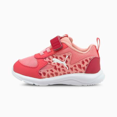 Zapatos deportivos Fun Racer Roar para bebé, Peony-Puma Blanco, pequeño