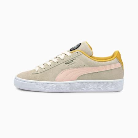 Zapatos deportivos Suede Time4Change JR, Eggnog-Lotus, pequeño