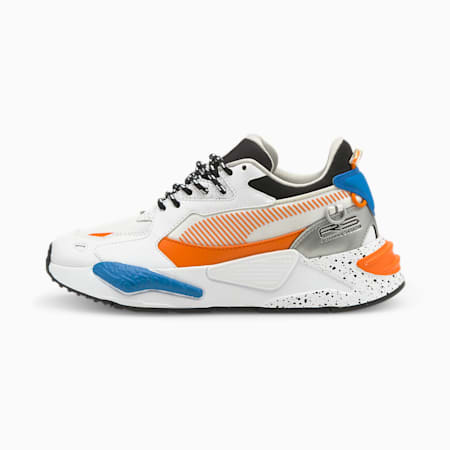 Zapatos deportivos RS-Z Astronauts para joven, Puma White-Vibrant Orange, pequeño
