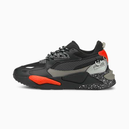 Zapatos deportivos RS-Z Astronauts para joven, Puma Black-Steeple Gray, pequeño