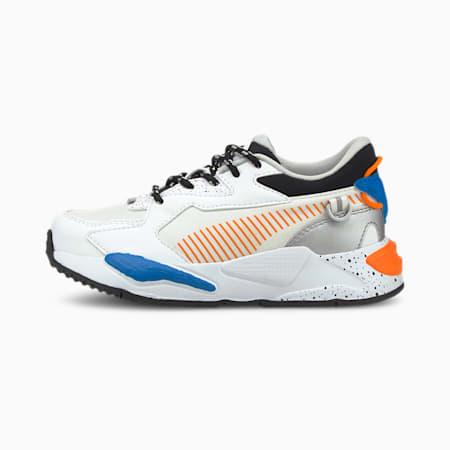 Zapatos deportivos RS-Z Astronauts para niño pequeño, Puma White-Vibrant Orange, pequeño
