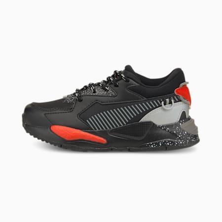Zapatos deportivos RS-Z Astronauts para niño pequeño, Puma Black-Steeple Gray, pequeño