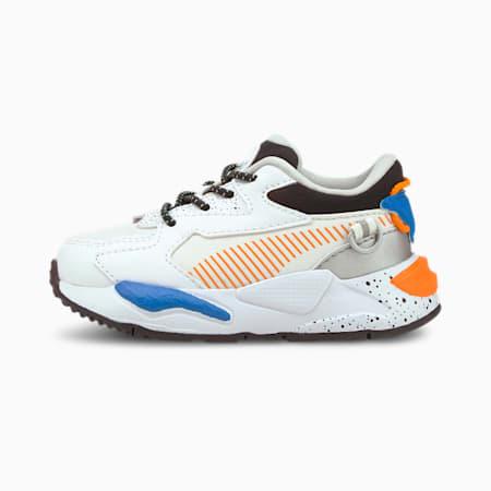 Zapatos deportivos RS-Z Astronauts para bebé, Puma White-Vibrant Orange, pequeño