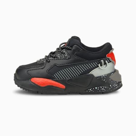 Zapatos deportivos RS-Z Astronauts para bebé, Puma Black-Steeple Gray, pequeño