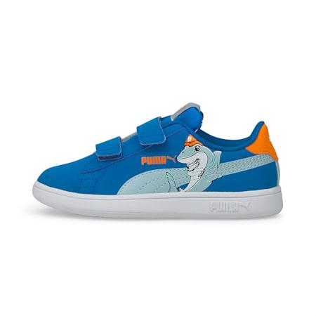 PUMA Smash v2 Lil PUMA Kid's Shoes, Future Blue-Blue Fog, small-IND