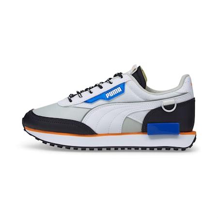 Future Rider Astronauts Kid's Sneakers, Glacier Gray-Future Blue, small-IND