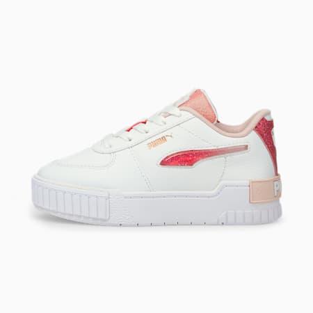 Zapatos deportivos Cali Sport Ballerina de niño pequeño, Puma White-Lotus, pequeño