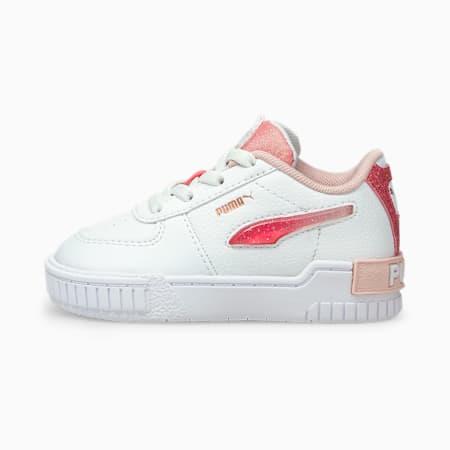 Zapatos deportivos Cali Sport Ballerina para bebé, Puma White-Lotus, pequeño