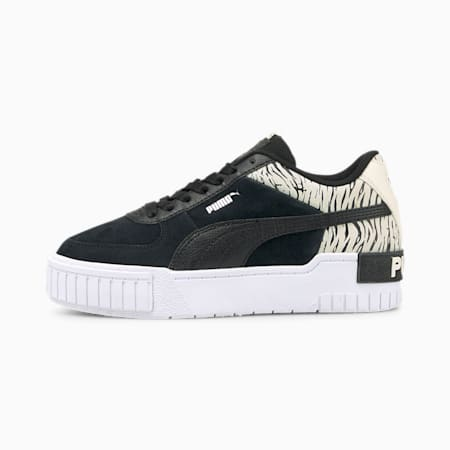 Zapatos deportivos Cali Sport Roar JR, Puma Black-Puma Black, pequeño