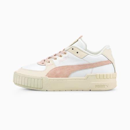 Zapatos deportivos Cali Sport Frosted Hike para mujer, Puma White-Marshmallow-Lotus, pequeño