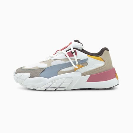 Hedra Bright Heights Women's Sneakers, Puma White-Peyote, small-IND
