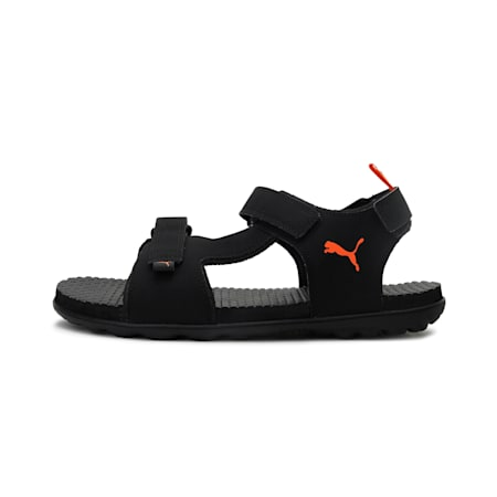 Blitz IDP Men's Shoes, Puma Black-Vibrant Orange, small-IND