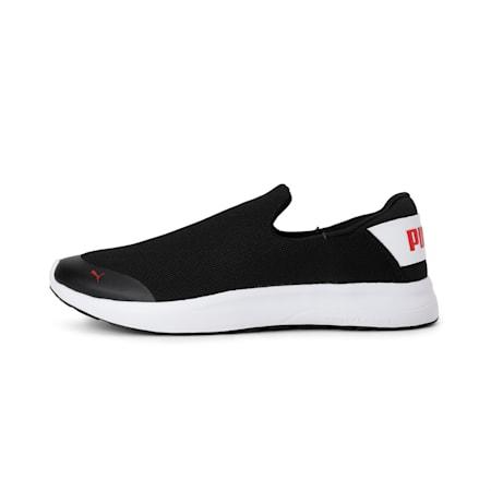 Comfort IDP Men's Slip-On Shoes, Puma Black-Puma White, small-IND