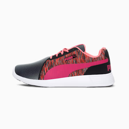 Crepe IDP Women's Shoes, Puma Black-Beetroot Purple, small-IND