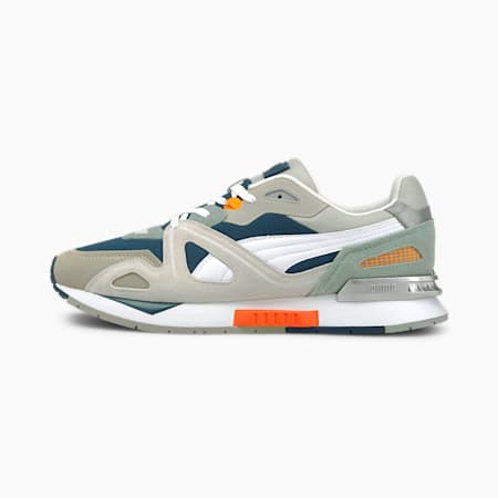 Mirage Mox Suede Trainers, Gray Violet-Intense Blue, small-GBR