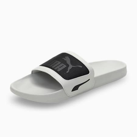 one8 Leadcat FTR Unisex Slides, Gray Violet-Puma Black, small-IND