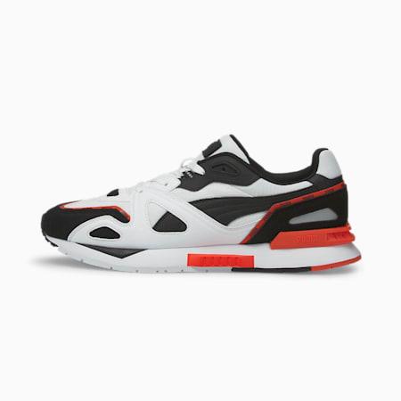 Mirage Mox Piping Unisex Shoes, Puma White-Puma Black-Grenadine, small-IND
