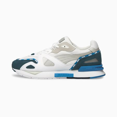 Mirage Mox Piping Trainers, Puma White-Intense Blue, small-GBR