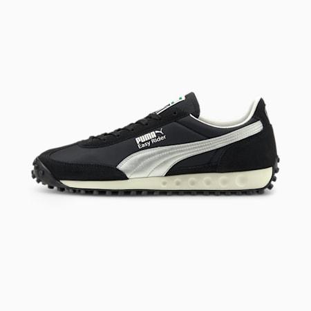 PUMA x Easy Rider II Tecno Unisex Shoes, Puma Black-Marshmallow, small-IND