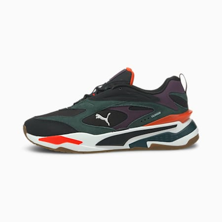 RS-Fast Buck Trainers, PumaBlack-Green Gables-White, small-GBR