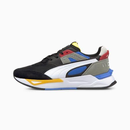 Mirage Sport Remix Trainers, Puma Black-Puma White, small-GBR