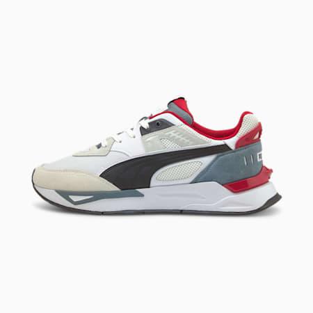Mirage Sport Remix Sneaker, Puma White-Puma Black, small