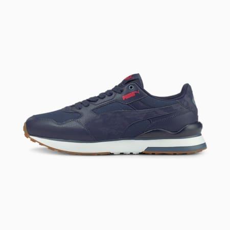 R78 FUTR Indigo Unisex Sneakers, Peacoat-Peacoat-High Risk Red, small-IND