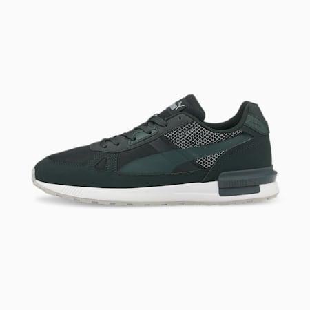 Zapatos deportivos Graviton Pro Tech, Midnight Green-Green Gables-Puma Silver-Puma White, pequeño