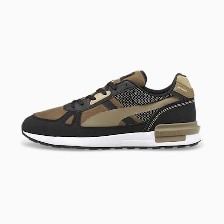 Zapatos deportivos Graviton Pro Tech, Covert Green-Covert Green-Puma Black-Spray Green-Puma White, pequeño