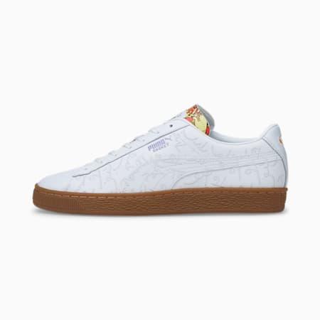 PUMA x ROMERO BRITTO Basket Sneaker, Puma White-Gum, small