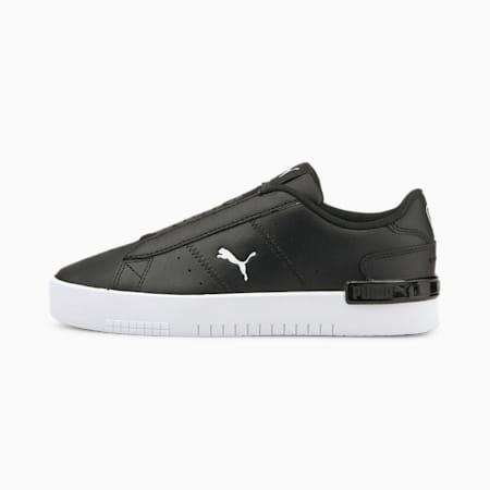 Jada AC Women's Sneakers, Puma Black-Puma White-Dark Shadow, small-IND