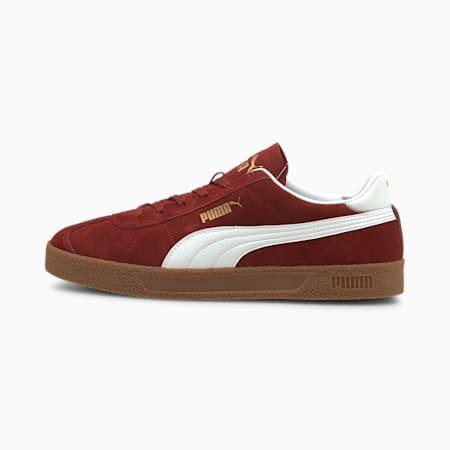 Zapatos deportivos Club, Intense Red-Puma White-Puma Team Gold-Gum, pequeño