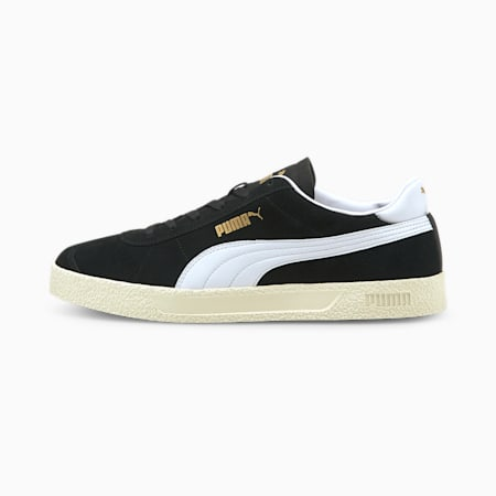 Club Trainers, Puma Black-Puma White-Puma Team Gold-Ivory Glow, small