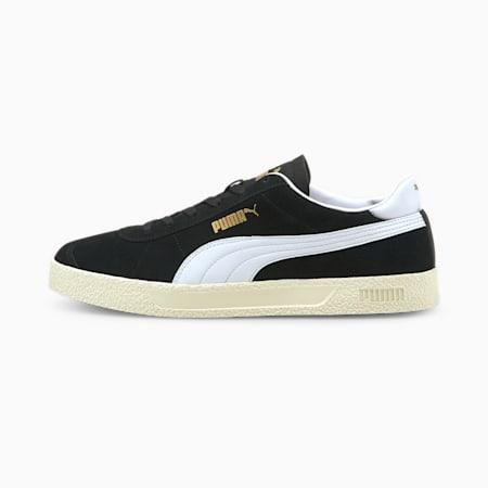 Zapatos deportivos Club, Puma Black-Puma White-Puma Team Gold-Ivory Glow, pequeño