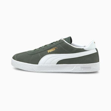 Zapatos deportivos Club, Balsam Green-Puma White-Puma Team Gold, pequeño