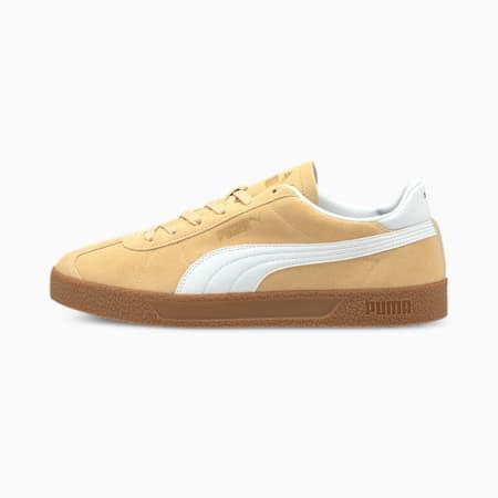 Zapatos deportivos Club, Pebble-Puma White-Puma Team Gold, pequeño