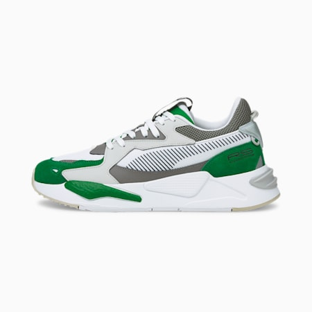 Zapatos deportivos RS-Z College, Amazon Green-Puma White, pequeño