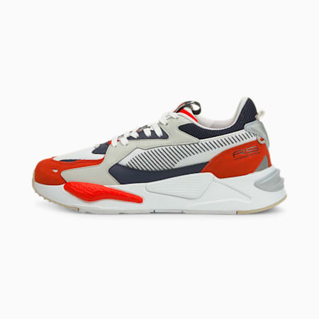 RS-Z College Unisex Sneakers, Grenadine-Puma White, small-IND