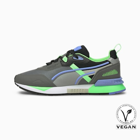 Mirage Tech Sneaker, CASTLEROCK-Elektro Green, small