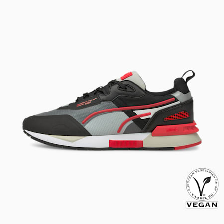 Mirage Tech Trainers, Puma Black-High Risk Red, small